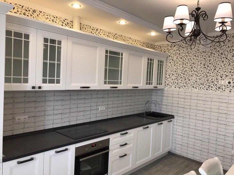Пример ремонта в кухни однокомнатной квартиры