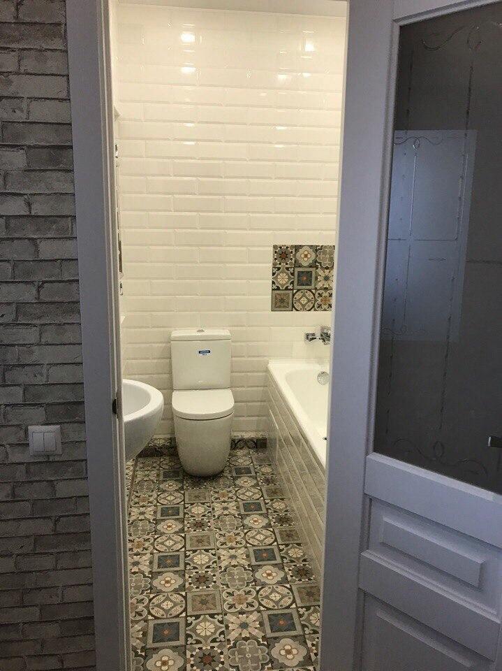 Пример ремонта санузла в однокомнатной квартире
